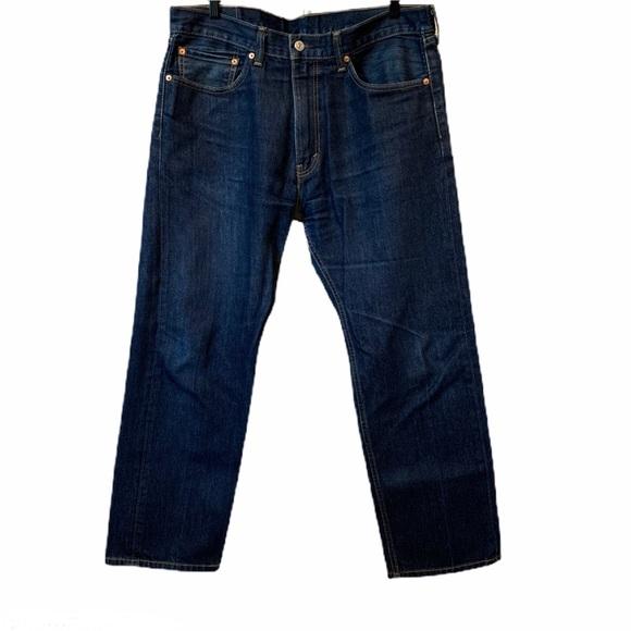 Levi's 505 red tag straight leg jeans 36 x 29 EUC